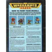 How to Paint you Models from Warhammer 40,000 2nd Edition